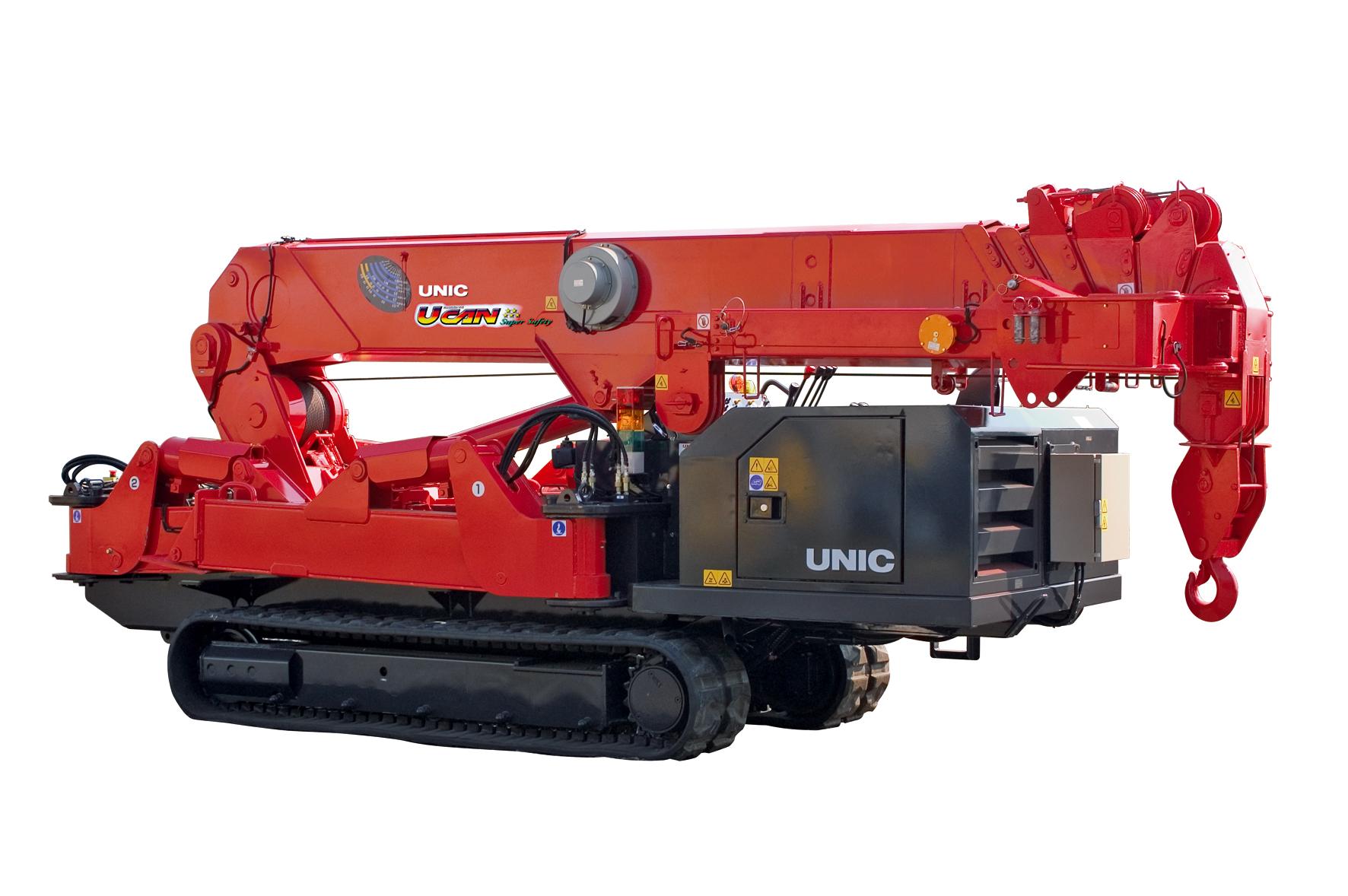 wynajem żurawi UNIC URW-706